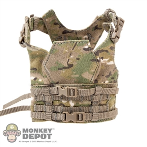 Vest: Fire Girl Female Multicam Chest Armor