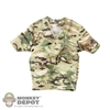 Shirt: Fire Girl Female Multicam T-Shirt