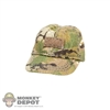 Hat: Fire Girl Multicam Female Baseball Cap