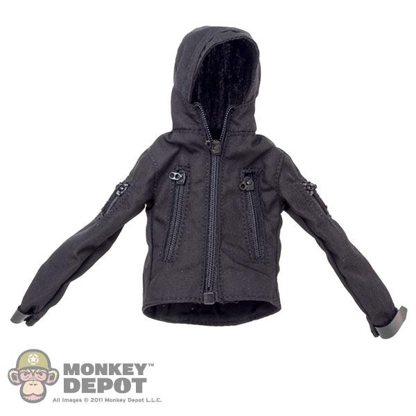 Monkey Depot Coat Fire Girl Black Female Tactical Jacket