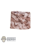 Scarf: Fire Girl Camo Neck Gaiter