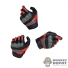 Hands: Fire Girl Female Molded Tactical Gloved Hand Set
