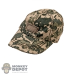 Hat: Fire Girl Female Camo Cap
