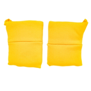 Pads: Figure Mens Padded Yellow Knee Pads