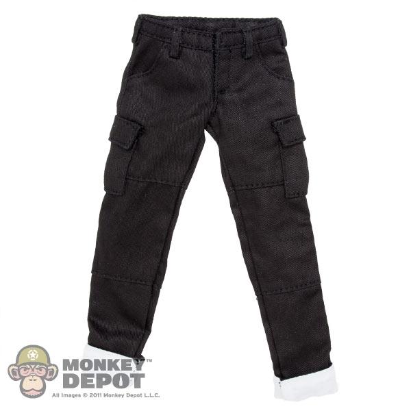 f1ca214e88a8 Monkey Depot - Pants: Flirty Girl Black Female Cargo Pants