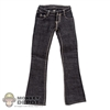 Pants: Flirty Girl Female Black Boot Cut Jeans