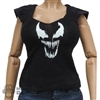 Shirt: Flirty Girl Female Black Venom Shirt