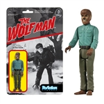 Carded Figure: Funko Universal Monsters Wolfman ReAction 3 3/4-Inch Figure (4162)