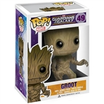 Boxed Figure: Funko POP Vinyl Guardians of the Galaxy Groot Bobble Head