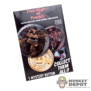 Button: Funko Five Nights at Freddy's Collectible Pinback Button (Random)