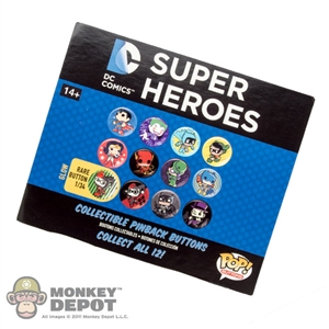 Button: Funko DC Super Heroes Collectible Pinback Button (Random)
