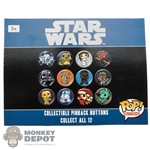 Button: Funko Star Wars Collectible Pinback Button (Random)
