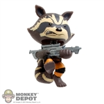 Mini Figure: Funko Guardians Of The Galaxy Rocket Raccoon (Action Pose)
