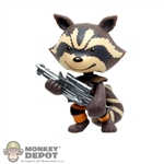 Mini Figure: Funko Guardians Of The Galaxy Rocket Raccoon
