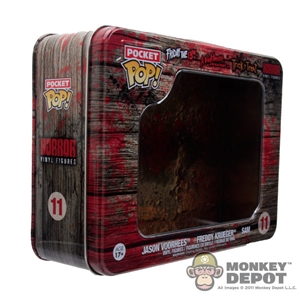 Mini Figure: Funko Pocket POP EMPTY Horror Case
