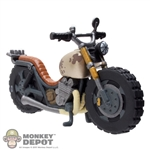Mini Figure: Funko Walking Dead Series 4 Daryl's Motorcycle
