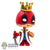 Funko Mini: Deadpool Burger King (1/24) (Bobble Head)