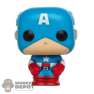 Mini Figure: Funko Pocket POP Captain America (Marvel 80th)