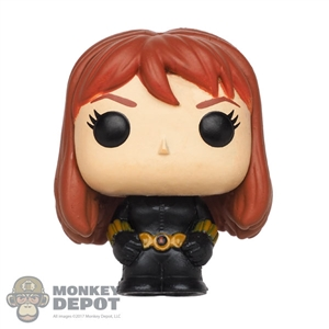 Mini Figure: Funko Pocket POP Black Widow (Marvel 80th)