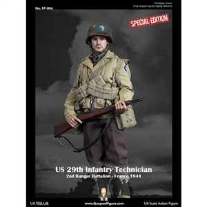 WWII US 29th Infantry Technician France 1944 Special Edition (FP-004B)