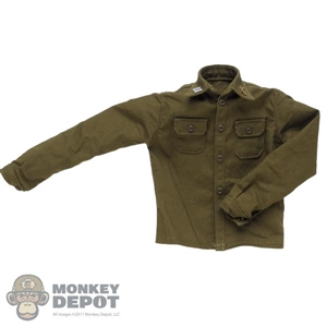 Shirt: Facepool GI Wool Shirt w/Collar Insignia