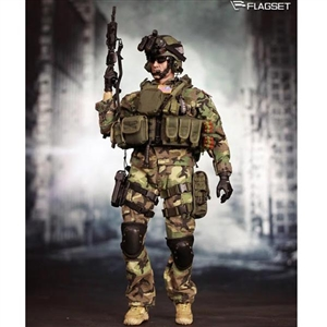 Boxed Figure: Flagset Delta Special Forces (73005)