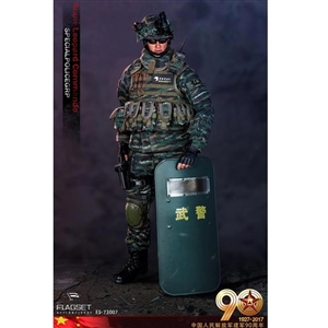 Boxed Figure: Flagset 90th Anniversary of the Chinese People's Liberation Army (73007)