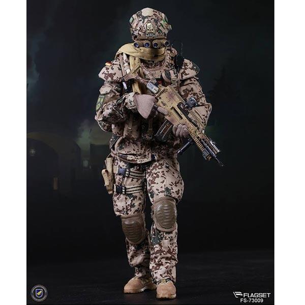 Boxed Figure: Flagset KSK (KOMMANDO SPEZIALKRÄFTE ) in Afghanistan -  Assaulter (73009)