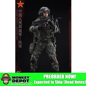 Flagset The Chinese People's Liberation Army - Machine Gunner (F73019)