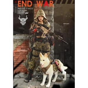 Flagset Doomsday War Series End War Death Squad U Umir + Dog Suit (F73022)