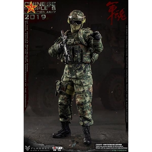 Boxed Figure: Flagset People's Liberation Army 2019 (F73034)