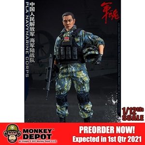 Flagset 1/12th Chinese Marine Corps (F73035)