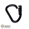 Tool: Flagset Carabiner Locking Black