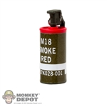 Grenade: Flagset Smoke Canister Red