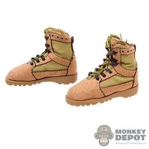 Boots: Flagset Tactical Laced Boots