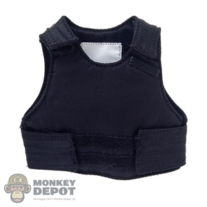 Vest: Flagset Mens Black Body Armor
