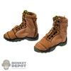 Boots: Flagset Mens Tan Tactical Boots