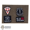 Insignia: Flagset 4 Piece Patch Set