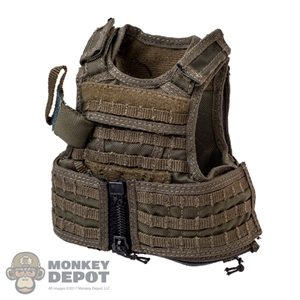 Vest: Flagset CQB Releasable Assault Vest w/Back Panel