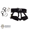 Harness: Flagset Mens Black Harness