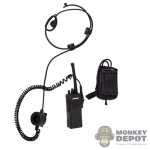 Radio: Flagset Walkie-Talkie w/Headset & Pouch