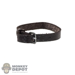 Belt: Flagset Brown Leather-Like Leg Strap