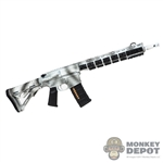 Rifle: Flagset M4 Rifle (Snow Camo)
