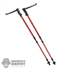 Poles: Flagset Red Ski Poles