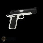 Pistol: Flagset Black & White 1911