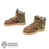 Boots: Flagset Female Tactical Boots (Camo)