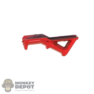 Grip: Flagset Angled Red Fore Grip