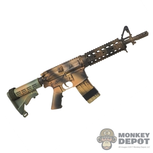Rifle : Flagset M4 Rifle (Camo)