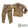 Uniform: Flagset Mens Desert Tiger Stripe Uniform