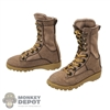 Boots: Flagset Mens Brown Tactical Boots